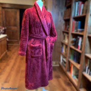 Plush ladies robe